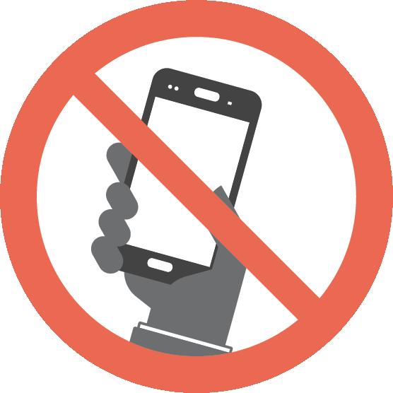 Interdiction: Utiliser un cellulaire en conduisant