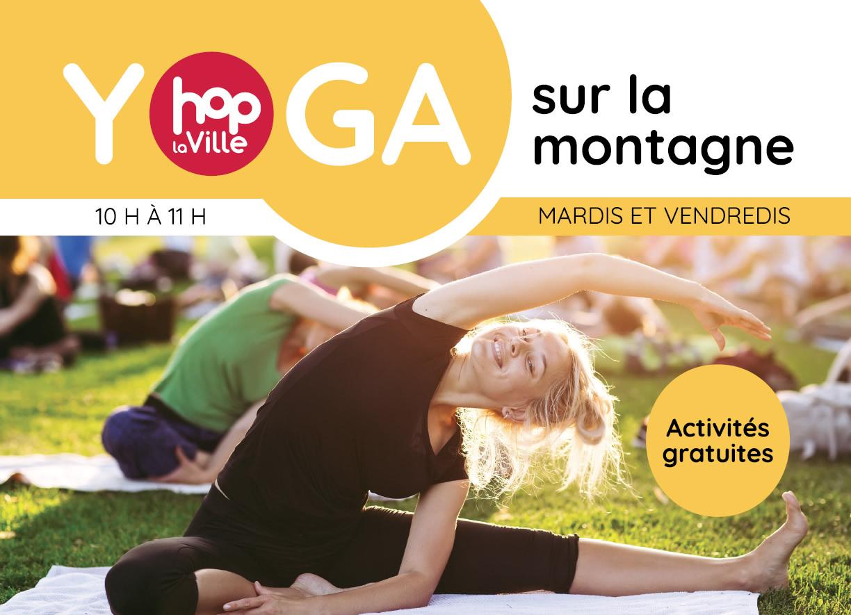 Yoga sur la montagne avec Hop la Ville