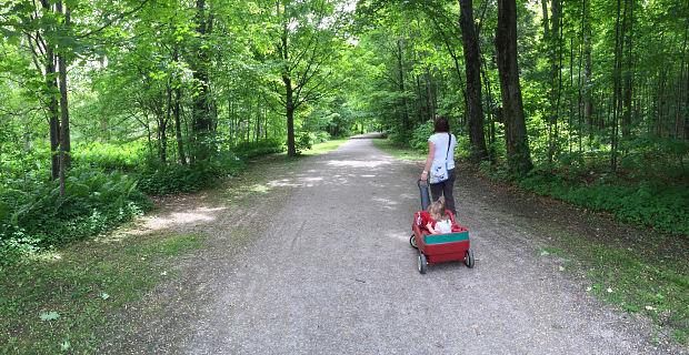 Le Sentier des Découvertes du parc Terre-des-Jeunes de Victoriaville