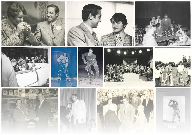 Photos d'archive Jean Béliveau