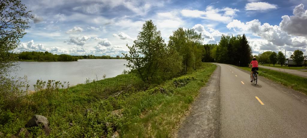 Sentier de 5.2 km autour du réservoir Beaudet de Victoriaville
