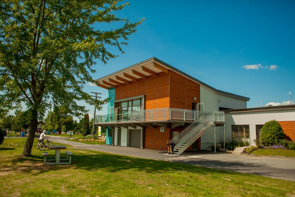 Pavillon du réservoir Beaudet de Victoriaville, inauguré en 2013