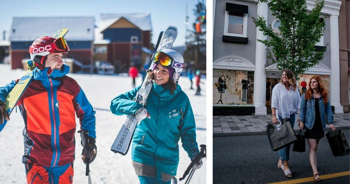 Offrez le Mont Gleason, la plus grosse montagne de ski du Centre-du-Québec ou un certificat-cadeau valide dans tous les commerces du centre-ville! Crédits photos: Les Maximes.