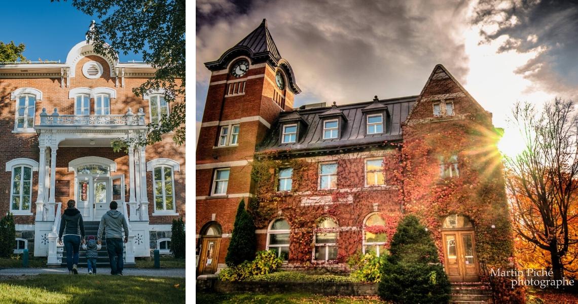 À gauche, le Musée Laurier, crédit photo: Les Maximes. À droite, le Musée de l'Hôtel des Postes, crédit photo: Martin Piché Photoraphe