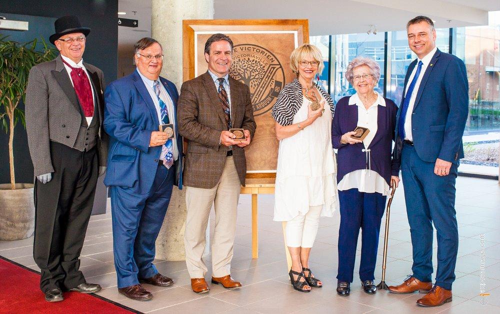 Lauréats 2017 de l'Ordre Victorien de Victoriaville